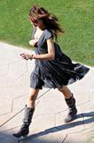 Miranda Kerr candids during photoshoot in Palm Springs