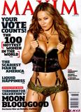 Moon Bloodgood showing off her body in skimpy lingerie in Maxim Magazine June 2009 - Mega-UHQ Scans - Hot Celebs Home