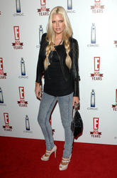 Sophie Monk bralesss in sheer black top at E! Television's 20th Birthday Celebration - Hot Celebs Home