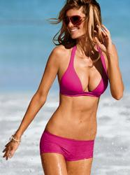 Marisa Miller in bikini and swimsuit for Victoria's Secret Swim Spring 2010 - Hot Celebs Home