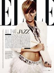 Rihanna leggy in lingerie for Elle magazine - Hot Celebs Home