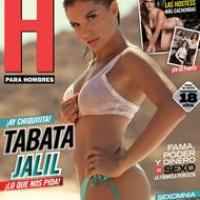 Tabata Jalil - Revista H Agosto 2011 - México - PDF COMPLETA (Digital, no Scan)