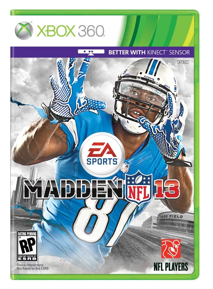 MADDEN NFL 13 Xbox 360 Pack Shot Gaming Phanatic