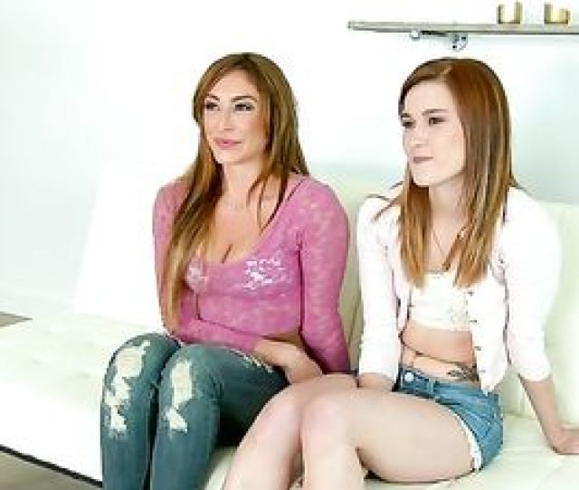 First Time Lesbian Fun For A Pretty Teen Girl