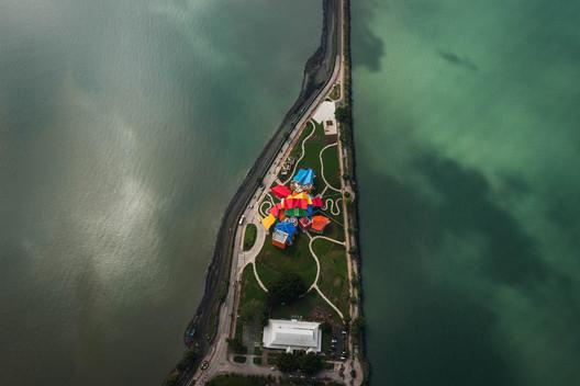 Biomuseo / Gehry Partners. Imagem © Fernando Alda