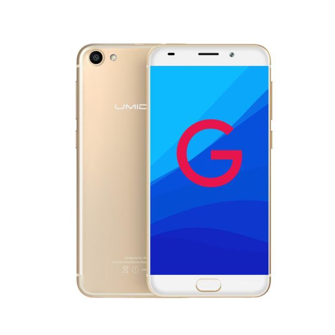 banggood UMIDIGI G MTK6737 1.3GHz 4コア GOLD(ゴールド)