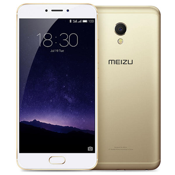banggood Meizu MX6 MTK6797 Helio X20 2.3GHz 10コア GOLDEN(ゴールデン)