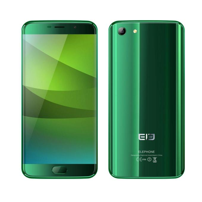banggood Elephone S7 MTK6797 Helio X20 2.0GHz 10コア GREEN(グリーン)
