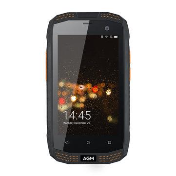 AGM A2 4.0-Inch Corning Gorilla Glass 3 IP68 2GB RAM 16GB ROM Qualcomm Snapdragon 210 2600mAh 4G Sma