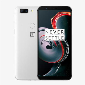 OnePlus 5T Global ROM Sandstone White 6.01 Inch 8GB RAM 128GB ROM Snapdragon 835 4G Smartphone