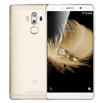 ZTE Axon 7 Max 6 inch Naked Eye 3D 4GB RAM 64GB ROM Snapdragon 625 Octa core 4G Smartphone