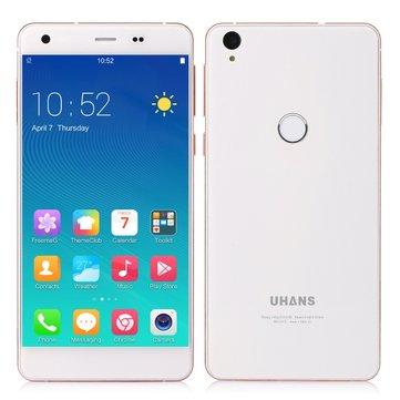 UHANS S1 5.0 Inch Fingerprint 3GB RAM 32GB ROM MT6753 Octa-core Smartphone