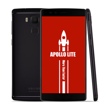 banggood Vernee Apollo Lite MTK6797 Helio X20 2.3GHz 10コア BLACK(ブラック)