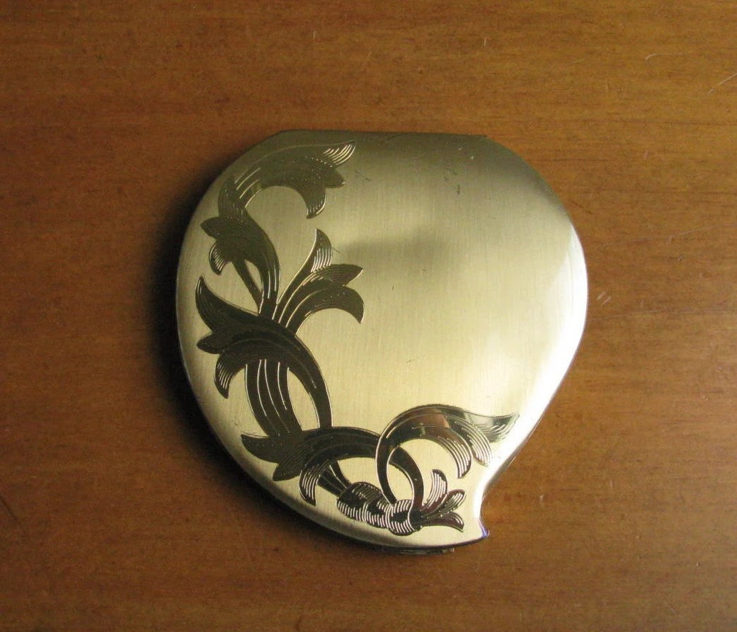 Vintage Elgin American Mirror Powder Compact