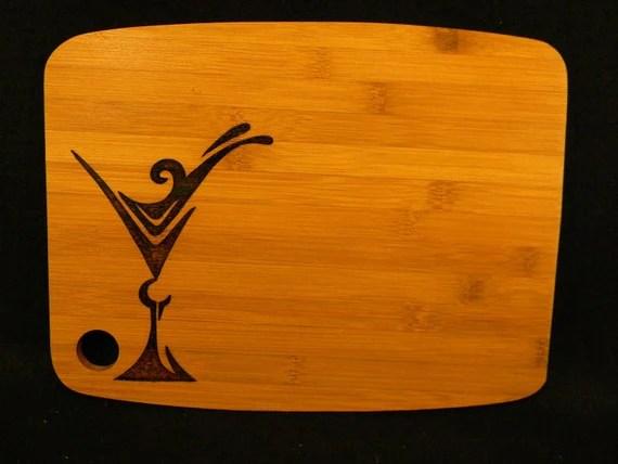 Cutting board - Martini Glass - heritagebay