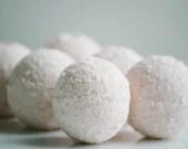 Rose Mini Bath Bombs - Natural Bath Bomb - Essential Oil Bath Bomb - Set of 12 - ElegantRoseBoutique