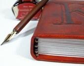Personalized Custom Leather Journal, Mini - LadyArtisan