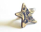 Wooden Star Ring - ARABIAN NIGHTS - Biberta