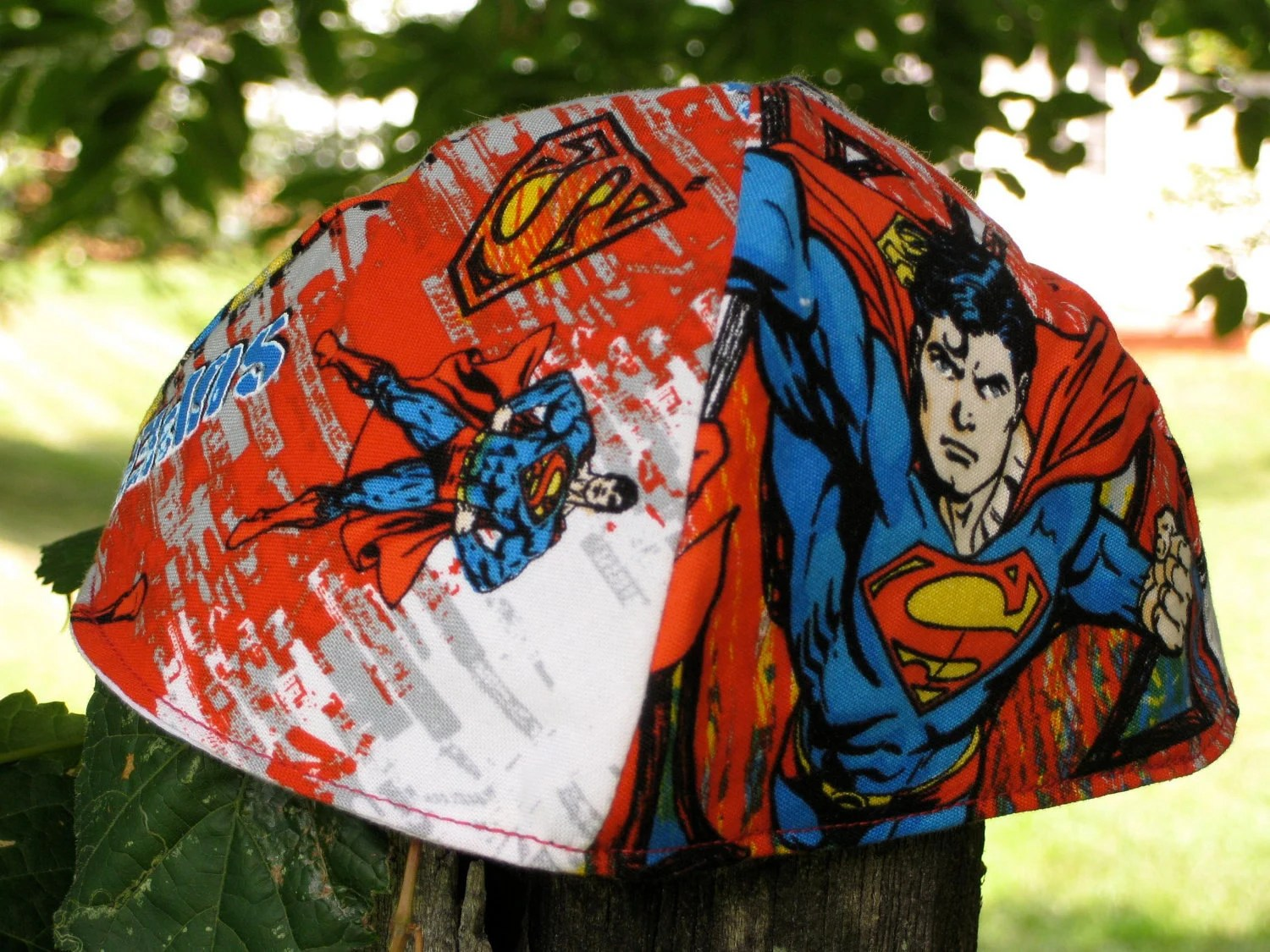 Superman Kippah or Yarmulke