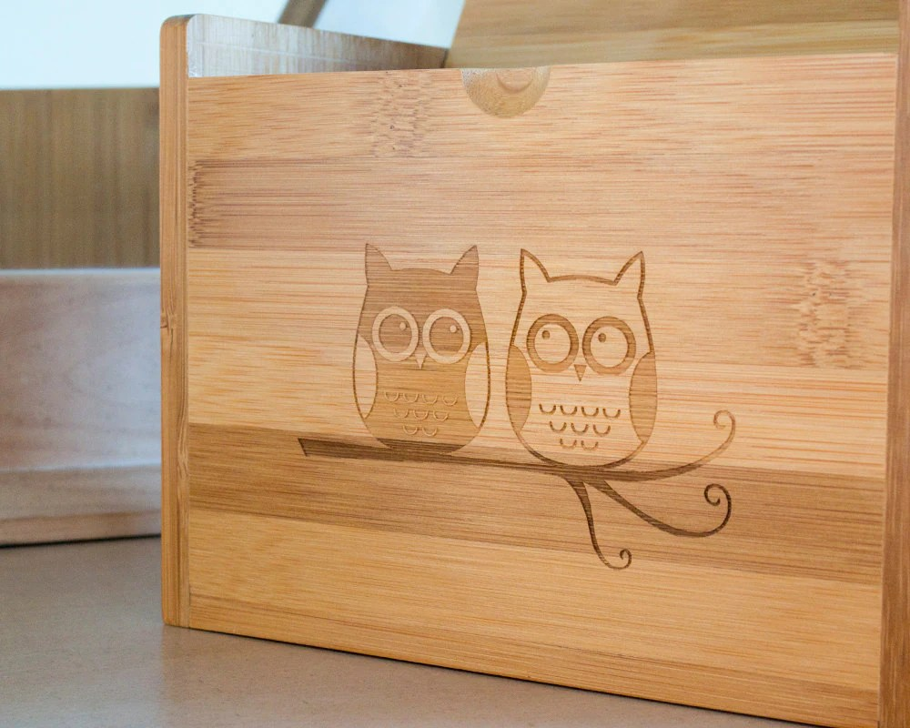 If the owls seem a bit too cutesy for your taste this Etsy shop also has recipe boxes with ... & Recipe Storage: Picking a Recipe Box | corkandspoon
