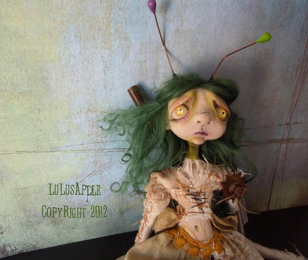 Steampunk rabbit doll