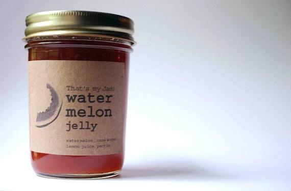 That's my Jam Watermelon Jelly 8 oz jar - jamgeek