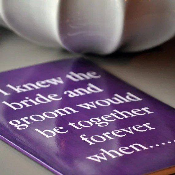 Small Talk - Conversation Starter Wedding Guest Book Alternative