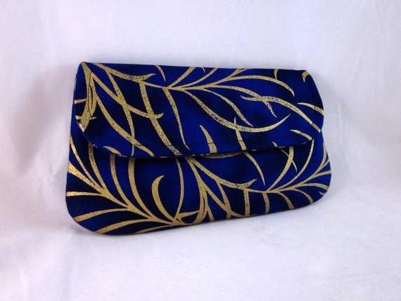 Cobalt Blue Clutch by waterpath - waterpath
