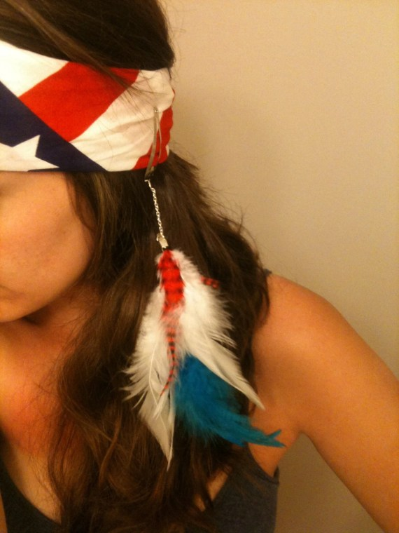 Fireworks - Hair Feathers - FolkandFairyTale