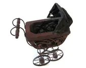 Vintage Doll Baby Buggy - PhotosPast