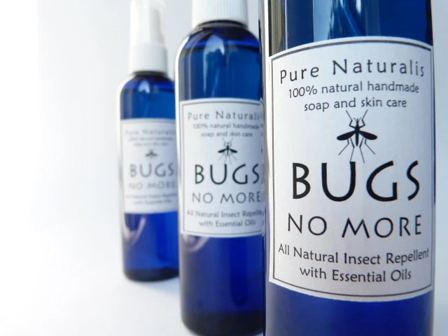 Insect Repellent All Natural with Pure Essential Oils, Vegan, DEET free, Smells  Fresh - PureNaturalis