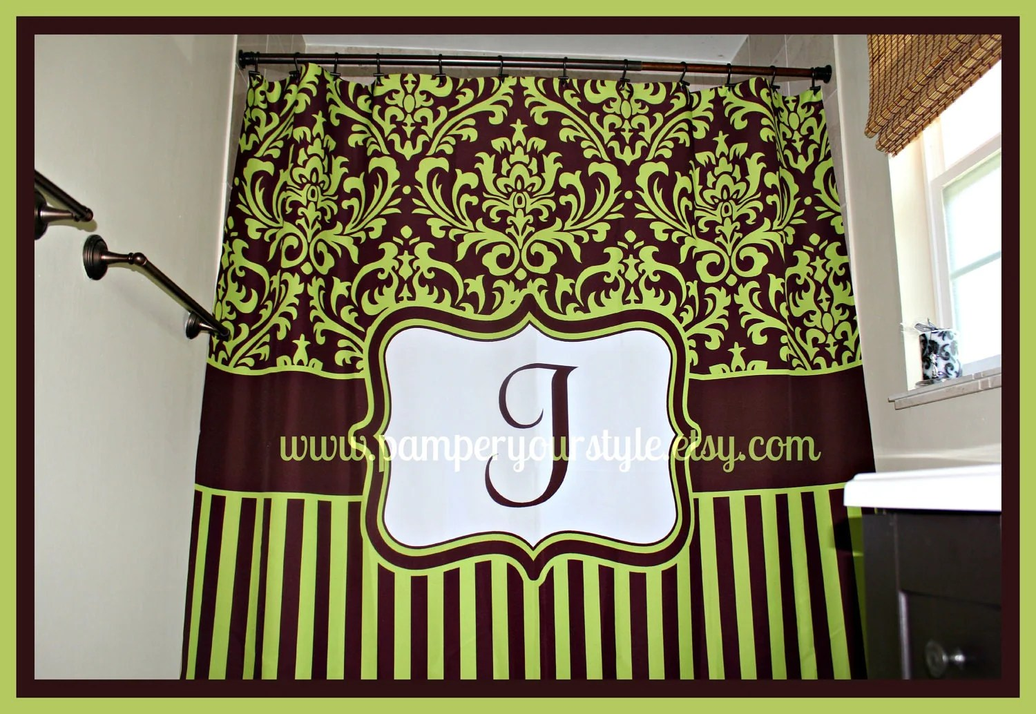 New Dining Rooms Walls Shower Curtains Green And Brown