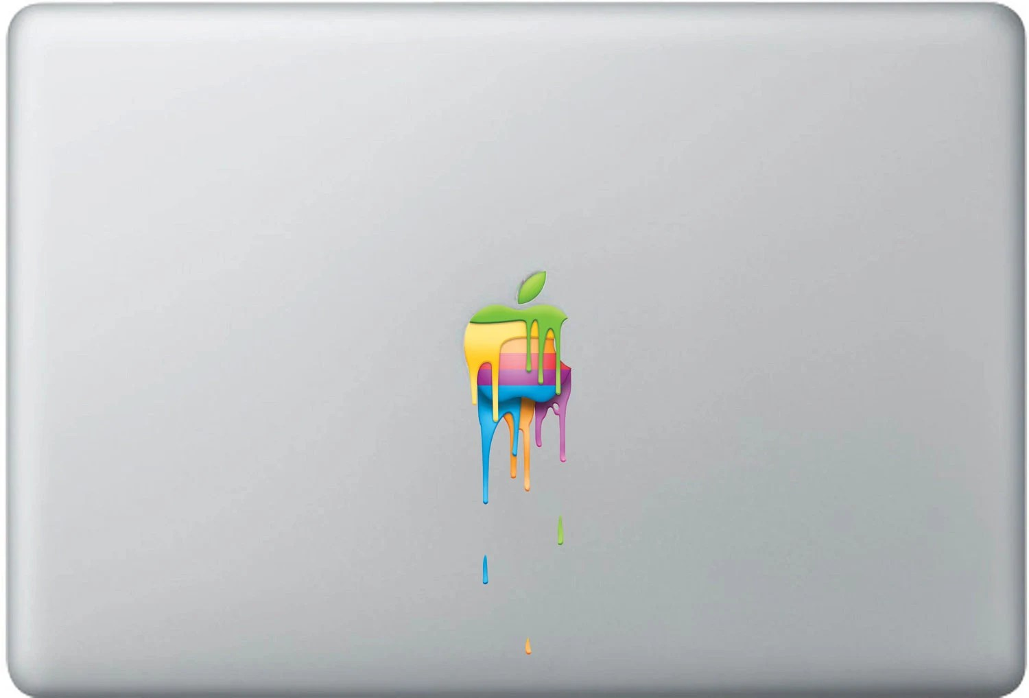 "Colored  apple macbook decal (11"", 13"", 15"", 17"")"