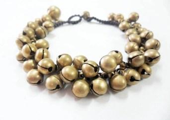 Brass Bell Bracelet