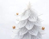 White Christmas tree. - SFBeads