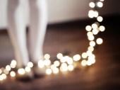 20% Off Sale - Winter, Bokeh, Twinkle Lights, Alice - The Incredible Lightness No. 3 -  Cozy Christmas - Beautiful Fairy Lights - ChelseaVictoria
