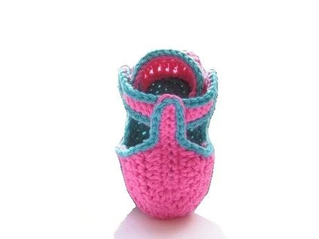 T-strap Crochet Baby Booties for Girls (pdf pattern for sale)
