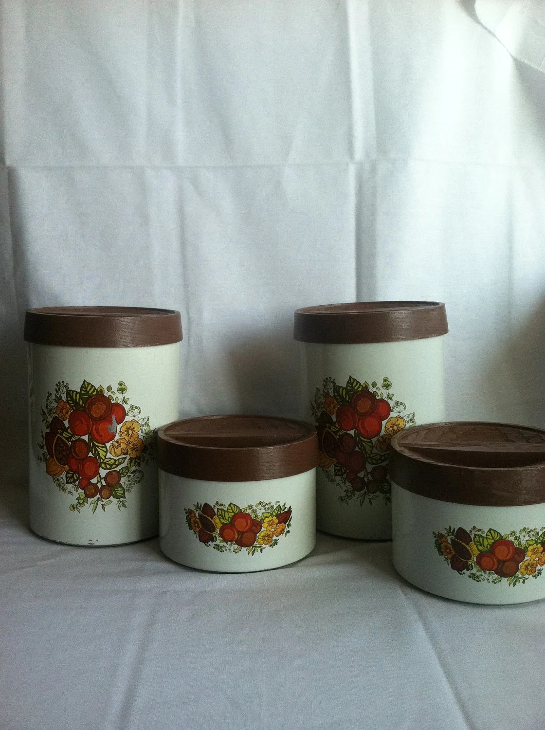 Set of Retro Canisters