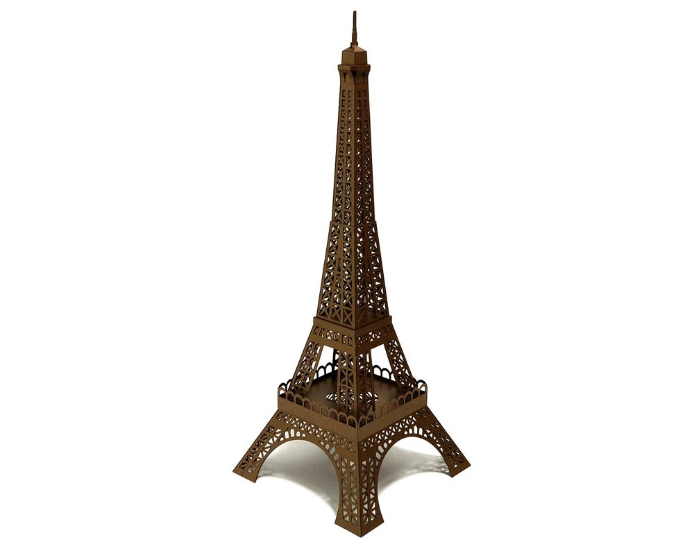 The New Eiffel Tower Paper Model (ASSEMBLED)