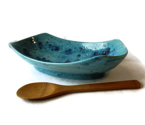 Centerpiece Serving Bowl in Light Turquoise - miasorellagifts
