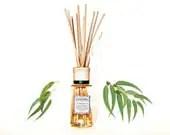 Organic Eucalyptus Essential Oil Reed Diffuser // 100 ml. - TheGreenAlchemist