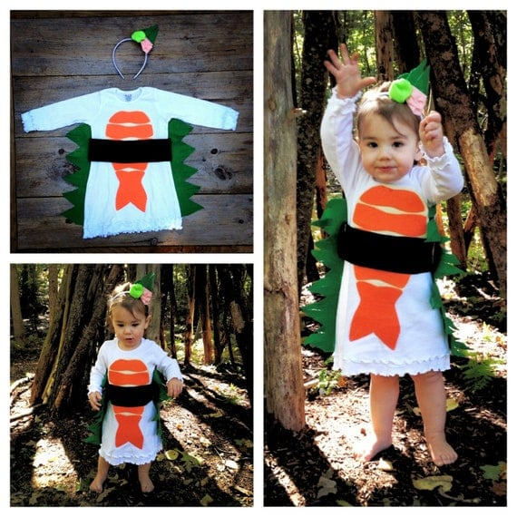 Toddler Sushi Dress Costume - Limited Edition - TheWishingElephant