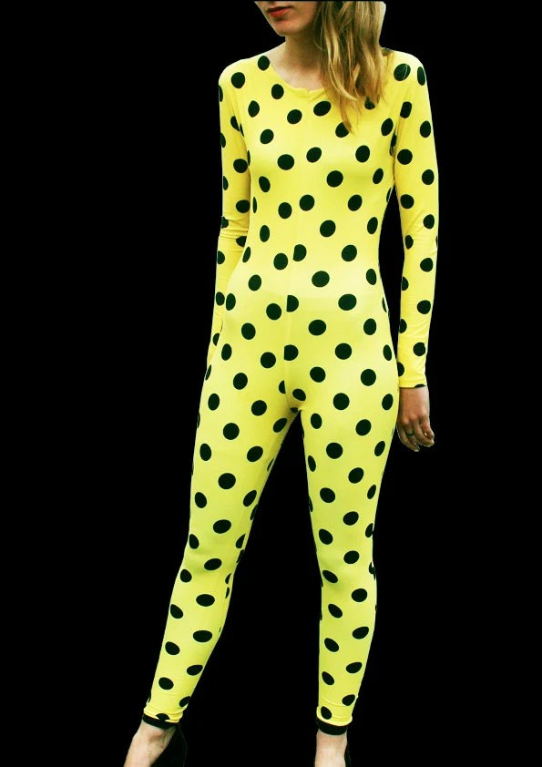 Limited Edition Yellow Polka Dot Onesie