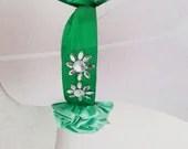 FREE SHiPPiNG Green Wedding Bridal Ribbon Sash Belt,honeymoon - SpecialFabrics