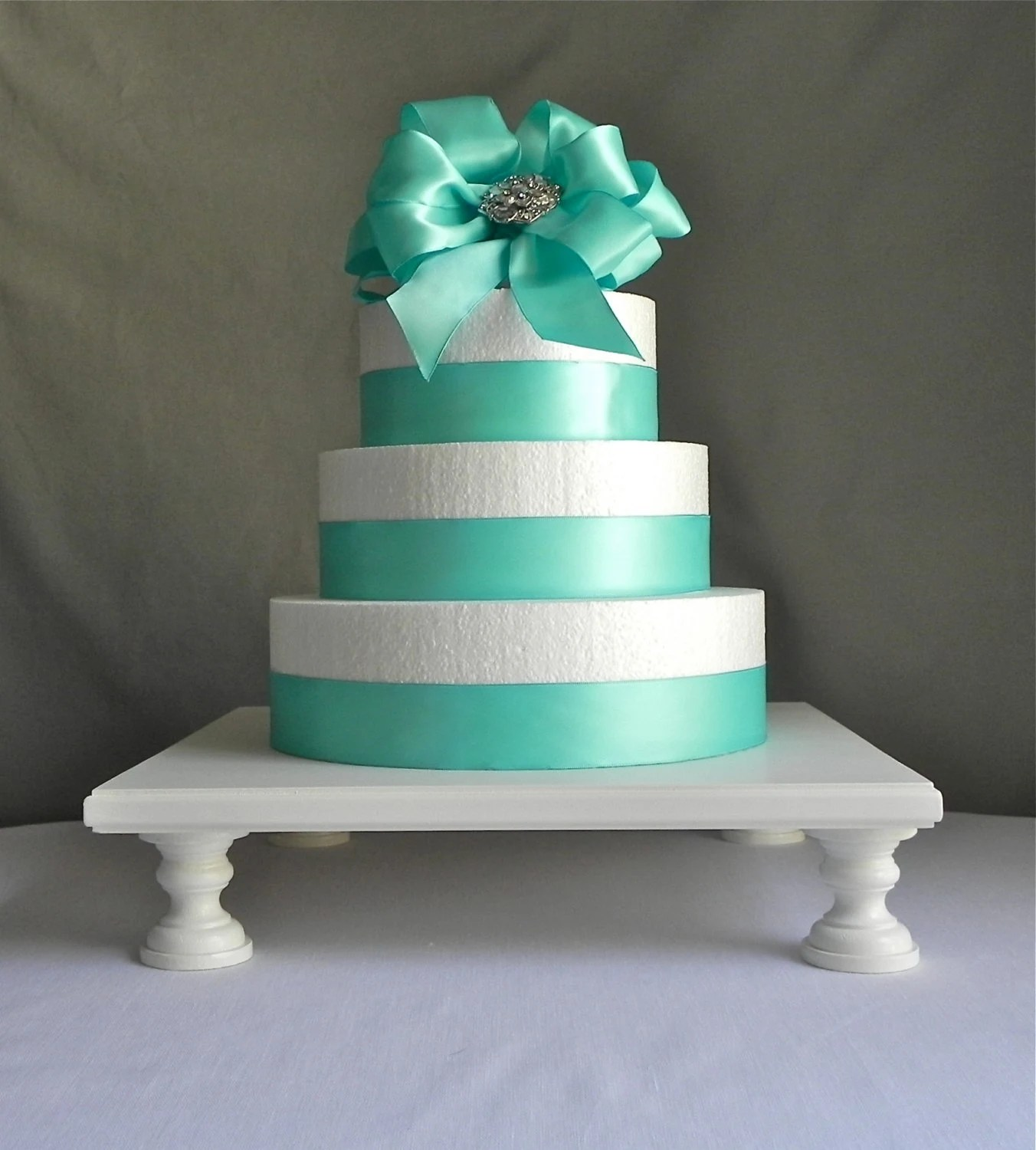 Cake Stand 14 Cupcake Stand Square Pedestal By