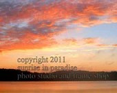 Perfect Peace ----- Sunrise Photo, Fine Art photography  and Home Decor(4x6 inch print)