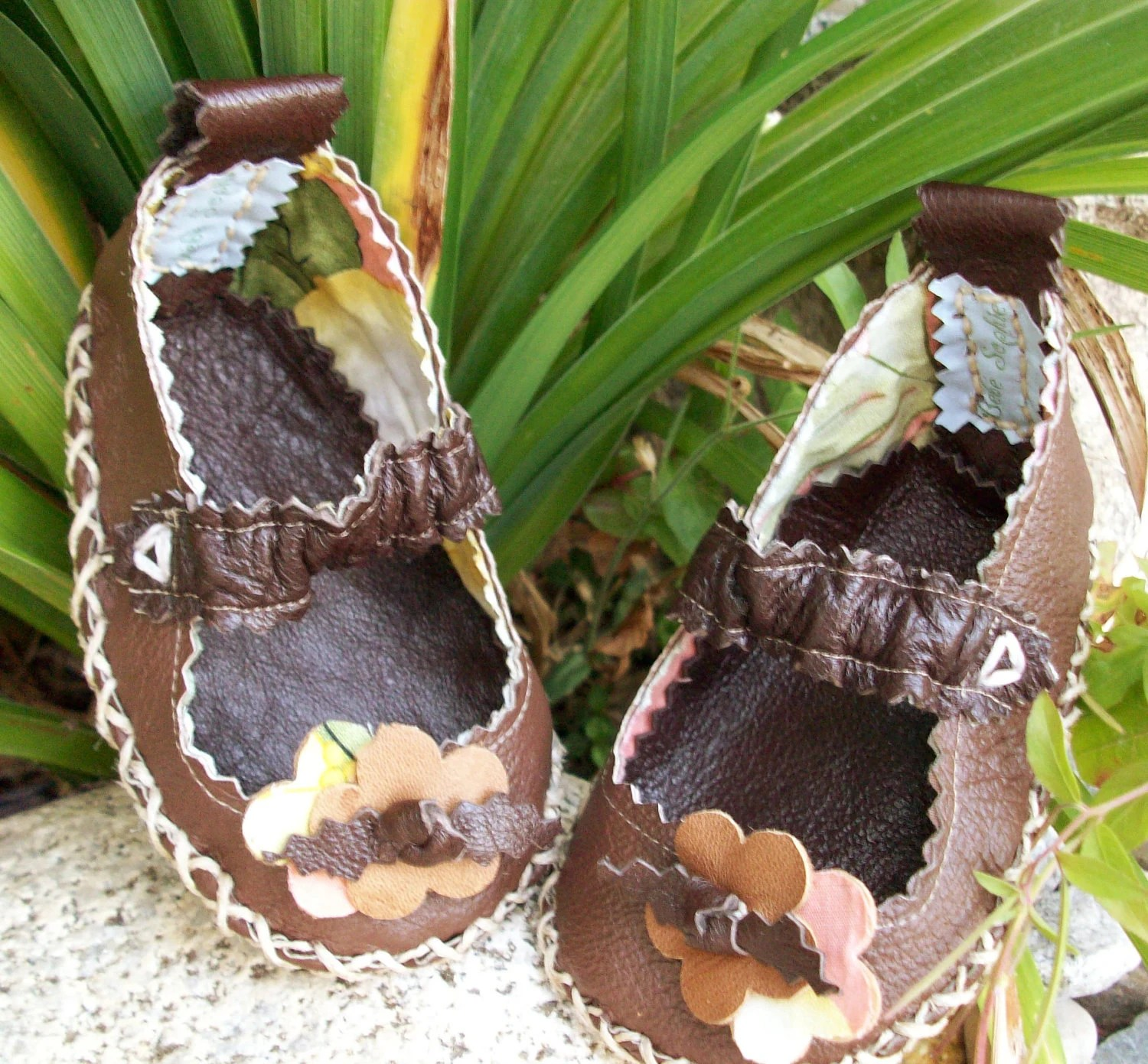 leather infant soft sole mary jane 0-6m, 6-12m, 12-18m - BebeSophie
