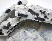 Oreo Cookie Vanilla White Chocolate Bark for Valentine's Day - 2 Individual 3 oz bags