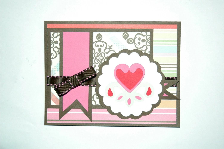 Flower Heart Valentine's Day Card