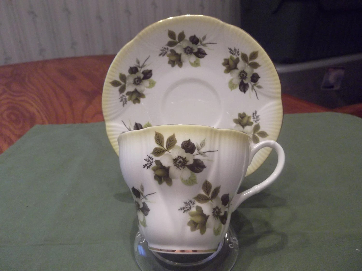 Royal Albert cup and saucer called Horizon circa 1947 plus